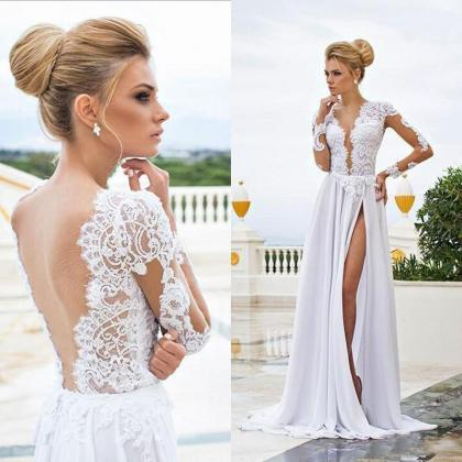 Pd90112 White Prom Dress,Chiffon Ev..