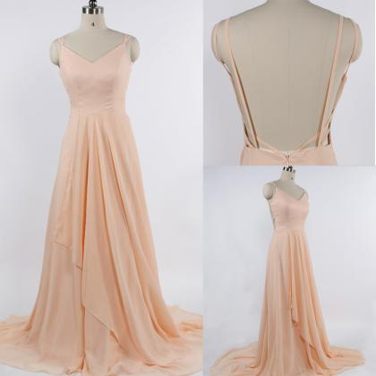 Pd61043 Charming Prom Dress,Chiffon..