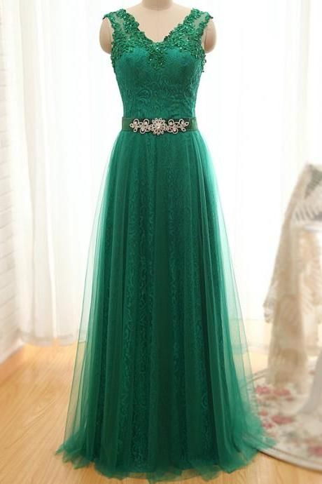 Pd610025 Charming Prom Dress,Tulle Prom Dress,Appliques Prom Dress,A-Line Evening Dress