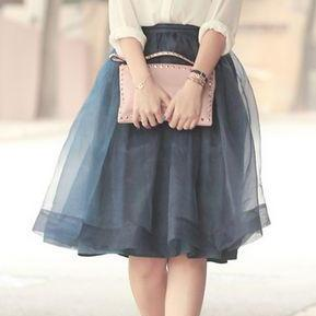 S-4 Fashion Spring Skirt,Tulle Skirt,High Quality Women Skirt,Lovely Skirt