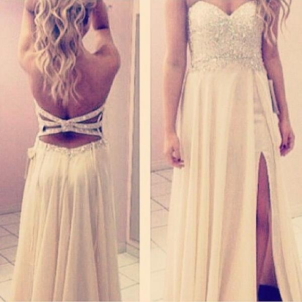 Pd404 Charming Prom Dress,Chiffon Prom Dress,A-Line Prom Dress,Sweetheart Prom Dress,Sequined Prom Dress